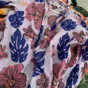 Samudra Tops - Samudra aloha shirt | Papeete Button-Up Shirt